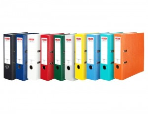 Segregator Herlitz Q.File A4 8cm 80mm - kolory do wyboru