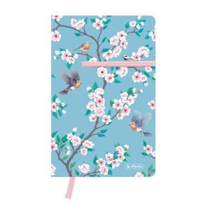 Notes Herlitz A5 # 88 kartki w kratkę LadyLike Birds 50021475