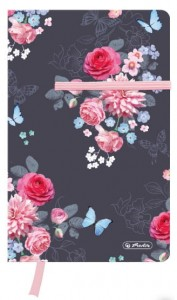 Notes Herlitz A5 # 88 kartki w kratkę LadyLike Flowers 50021482