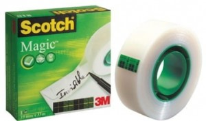 Taśma klejąca Scotch Magic Invisible matowa 19mm x 33 m
