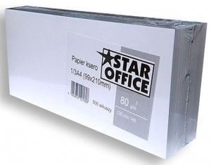 Papier ksero do recept Star Office 1/3 A4 500 arkuszy